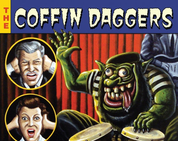 "The Coffin Daggers ""Aggravatin' Rhythms"" LP"