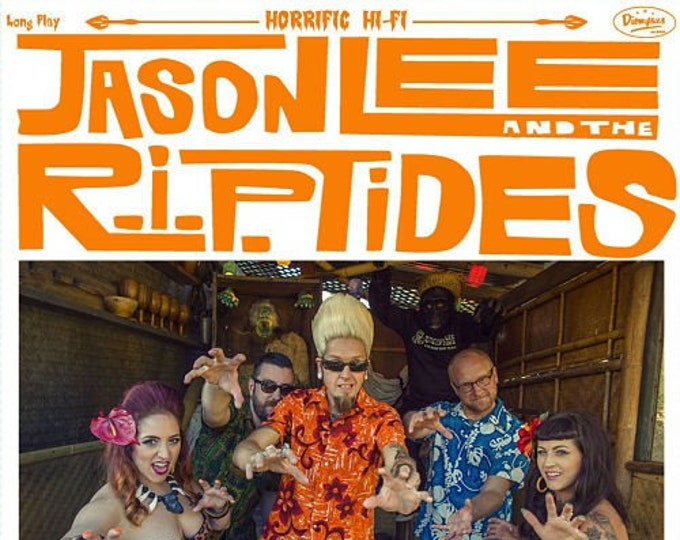 "Jason Lee and The R.I.PTides ""Monsters and Mai Tais"" LP"