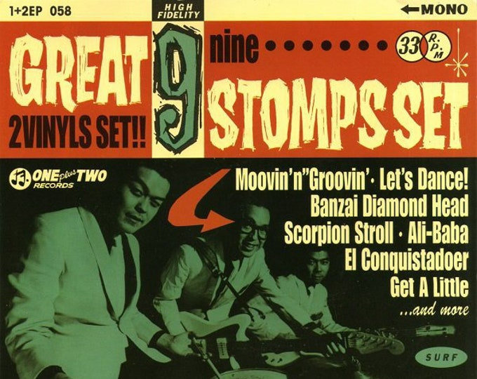 "Jackie and The Cedrics ""Great 9 Stomps"" 2x7"" Set"