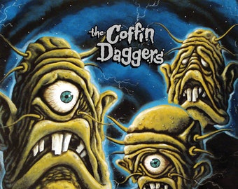 """The Coffin Daggers """"Monsters from the Id"""" LP"""