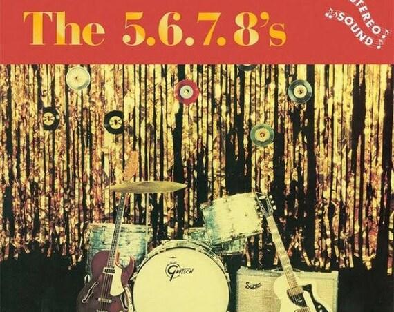 The 5.6.7.8's s/t LP