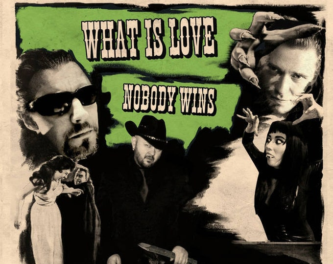 "The Guitaraculas ""What is Love / Nobody Wins"" 45"