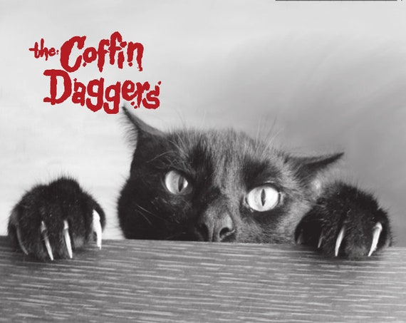 "The Coffin Daggers ""Cat's Eyes"" 45"