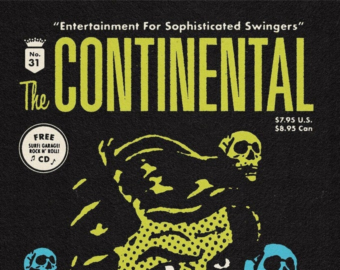 The Continental #31 ft. The Bomboras w/ CD