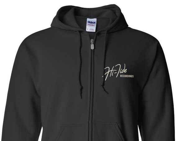 Hi-Tide Recordings Classic Logo Zip Hooded Sweatshirt
