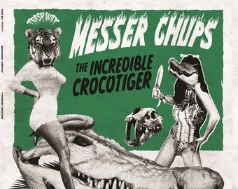 "Messer Chups ""The Incredible Crocotiger"" LP"