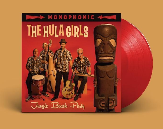 "The Hula Girls ""Jungle Beach Party"" LP"
