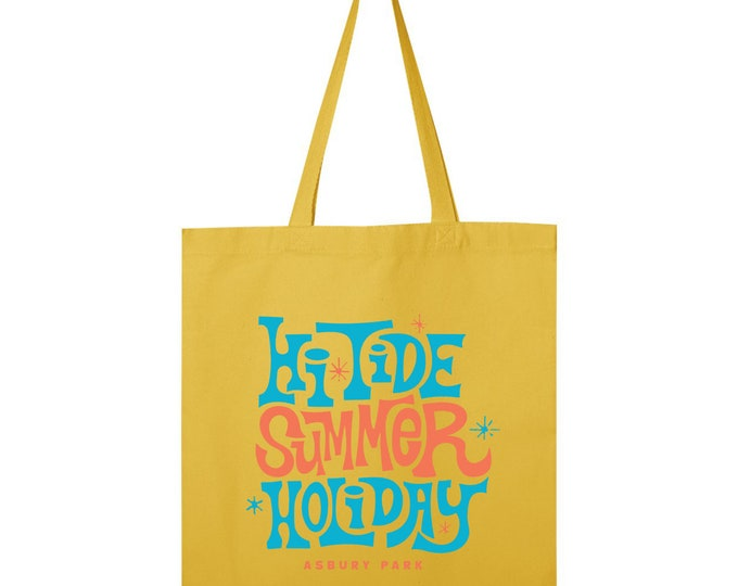 Hi-Tide Summer Holiday: Asbury Park 2019 Record Tote
