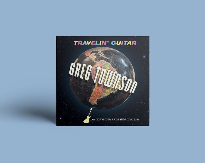 "Greg Townson ""Travelin' Guitar"" CD"