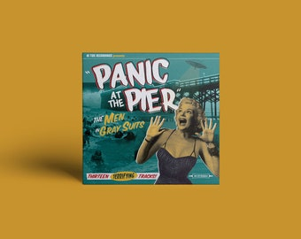 "The Men In Gray Suits ""Panic at the Pier"" CD"