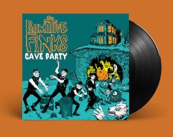 """The Primitive Finks """"Cave Party"""" LP"""