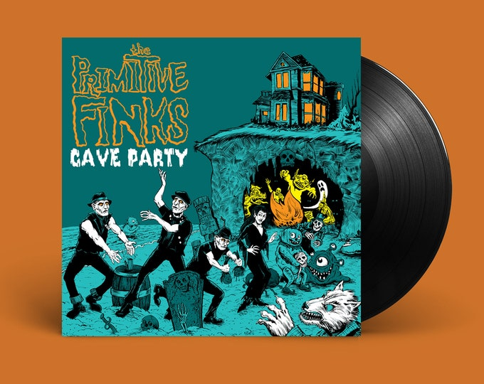 "The Primitive Finks ""Cave Party"" LP"
