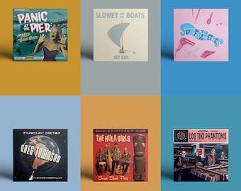 """Hi-Tide """"Surf, Lounge & Exotic Sounds"""" CD Bundle"""