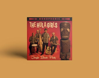 "The Hula Girls ""Jungle Beach Party"" CD"
