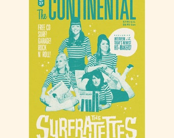 The Continental Magazine Issue #27 ft. The Surfrajettes w/ CD