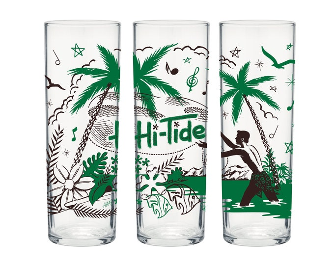 "Hi-Tide ""Gone Fishin"" Zombie Glass"