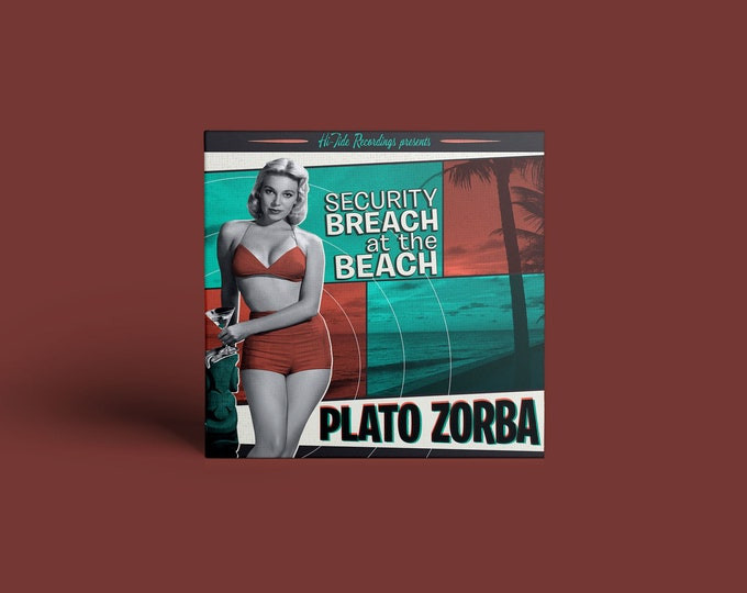 "Plato Zorba ""Security Breach at the Beach"" CD"