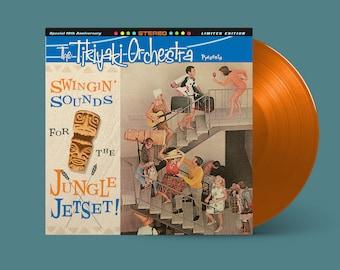 "The Tikiyaki Orchestra ""Swingin' Sounds for the Jungle Jetset!"" 10-Year Anniversary LP (Mai Tai Orange)"