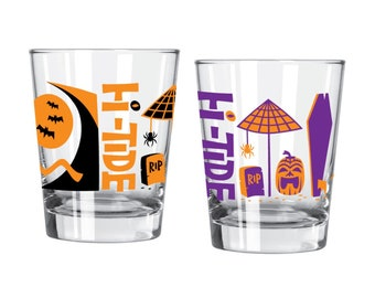Hi-Tide Halloween Mai Tai Glass Set
