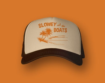 """Slowey and The Boats """"Amber Moon"""" Trucker Hat"""