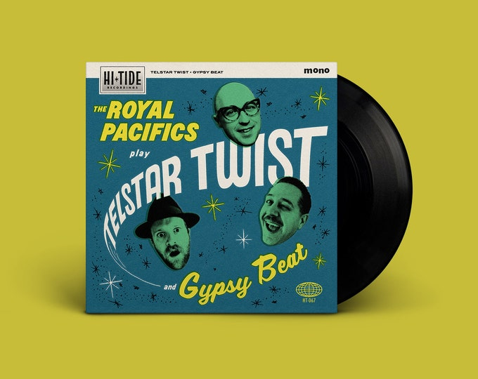 "The Royal Pacifics ""Play Telstar Twist and Gypsy Beat"" Single"