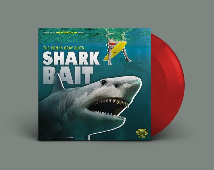 "The Men In Gray Suits ""Shark Bait"" Extended-Play 45 (Blood Red)"