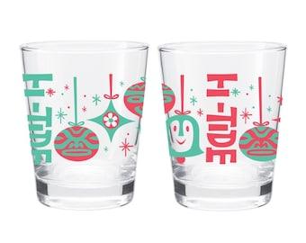 "Hi-Tide ""Shiny Brite II"" Holiday Cocktail Glass"