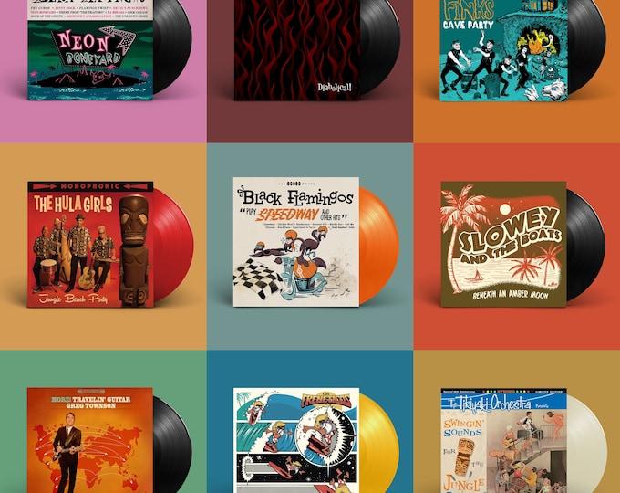 "Hi-Tide ""Surf, Lounge & Exotic Sounds"" LP Bundle"
