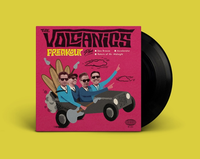 "The Volcanics ""Freakout"" Extended-Play 45"