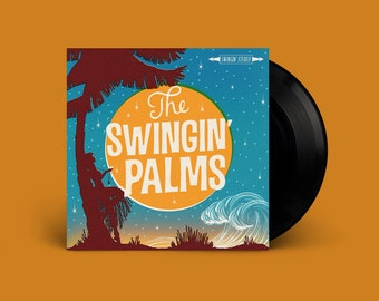The Swingin' Palms s/t Extended-Play 45