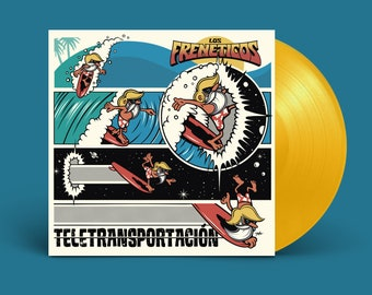 "Los Frenéticos ""Teletransportación"" LP"