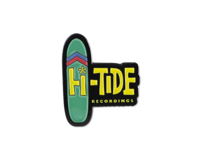 Hi-Tide Recordings Lapel Pin