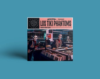 "Los Tiki Phantoms ""Disco Guateque"" CD"