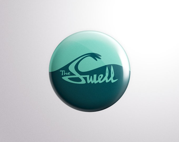 The Swell Logo Pin