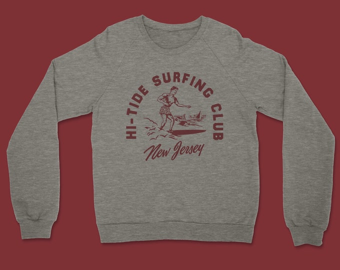 Hi-Tide Surfing Club Crewneck Sweatshirt