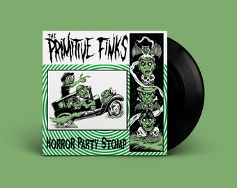 """The Primitive Finks """"Horror Party Stomp"""" Extended-Play 45"""
