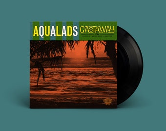 """Aqualads """"Castaway"""" Extended-Play 45"""