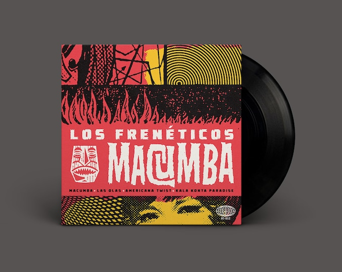 "Los Frenéticos ""Macumba"" Extended-Play 45"