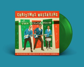 """The Volcanics """"Christmas Wassailing"""" Extended-Play 45 (Evergreen)"""