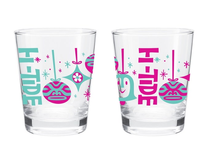 "Hi-Tide ""Shiny Brite"" Holiday Mai Tai Glass"