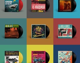 "Hi-Tide Recordings ""Surf, Lounge & Exotic Sounds"" 45 Bundle"
