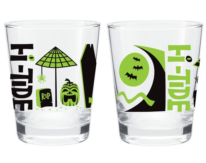 Hi-Tide Halloween Mai Tai Glass Set