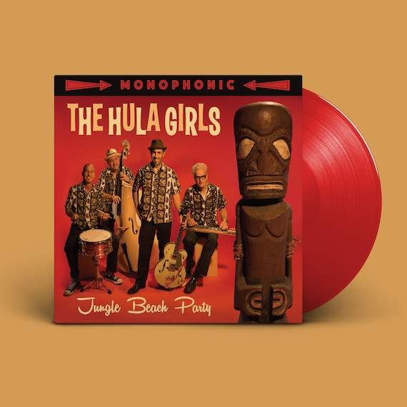 "The Hula Girls ""Jungle Beach Party"" LP"