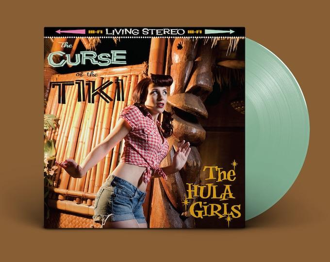 "The Hula Girls ""The Curse of the Tiki"" 10-Year Anniversary LP (Sea Glass)"