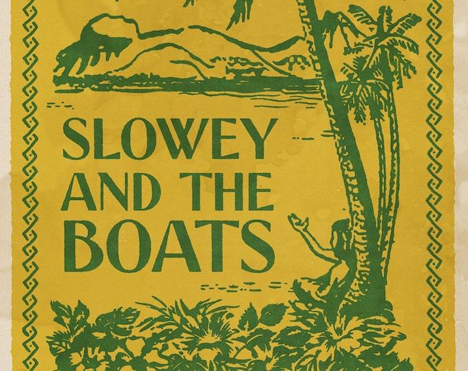 "Slowey and The Boats Longwood Gardens Print 11x17"""