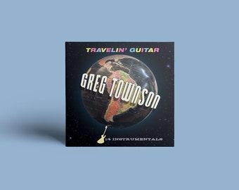 """Greg Townson """"Travelin' Guitar"""" CD"""