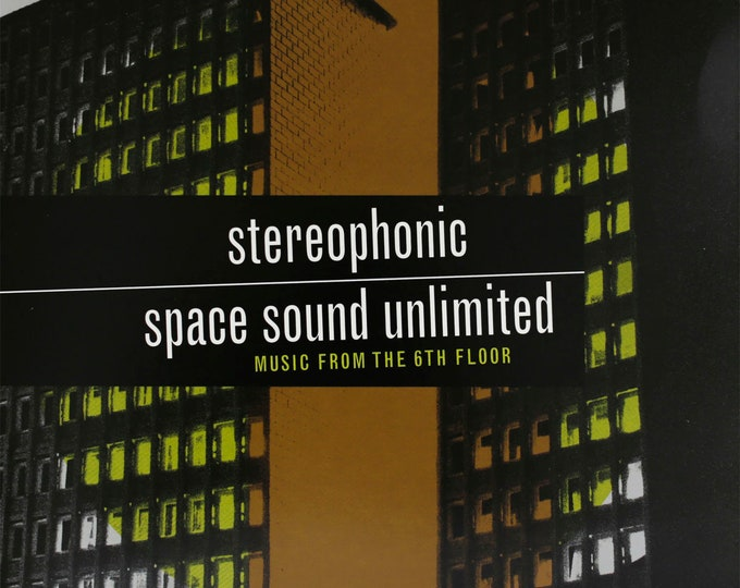 """Stereophonic Space Sound Unlimited """"Music from the Sixth Floor"""" LP (Orange Marble)"""