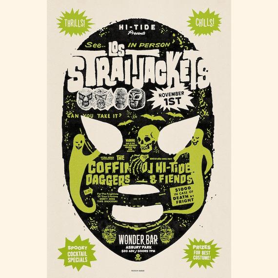 Los Straitjackets / The Coffin Daggers Wonder Bar Poster