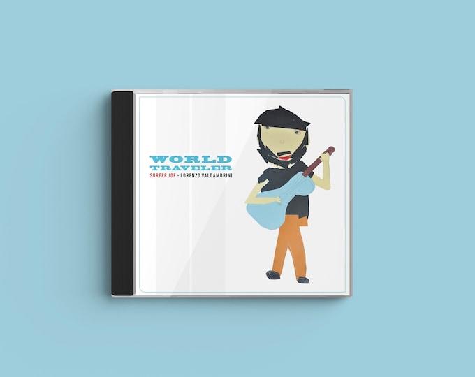 """Surfer Joe """"World Traveler"""" CD"""