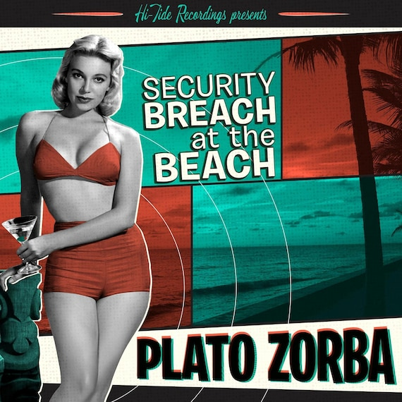 "NEW! Plato Zorba ""Security Breach at the Beach"" CD"